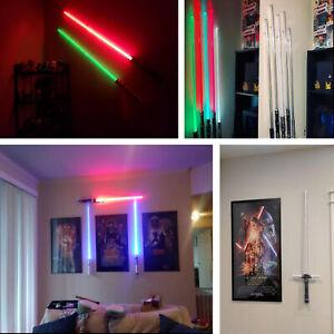Wall Mount Lightsaber Vertical Wall Rack// Star Wars Holder Lightsaber Holder