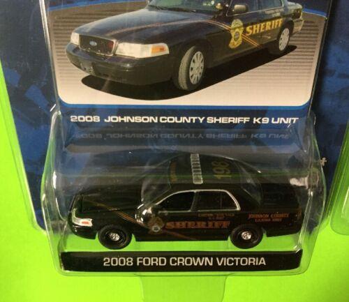 GL Hot Pursuit Johnson County Kansas Sheriff K9 Unit 198 /& 331 Crown Vic Lot of2