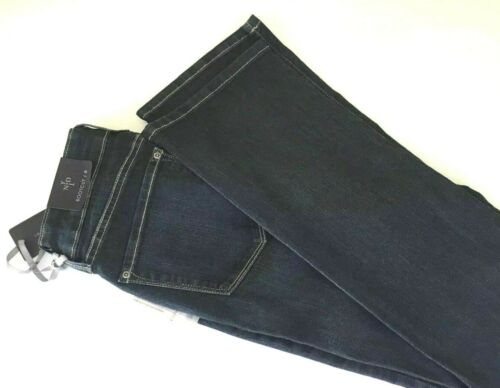 NYDJ Not Your Daughters Jeans Barbara Bootcut Blue Mid to Dark Wash UK 8 10 16
