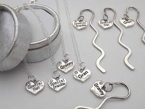 nan great grandma granny gran nana nanny necklace keyring mini