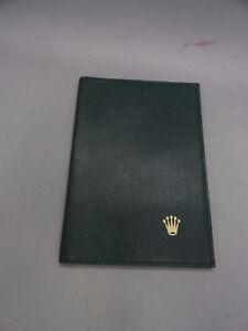 Rolex-Geneva-Vintage-Leather-Passport-Holder-Wallet-Card-Holder-Vintage-Rare