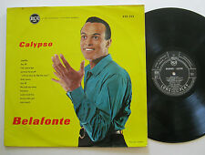 LP Harry Belafonte - Calypso - French Press - Matilda Jamaica Farewell Hosanna