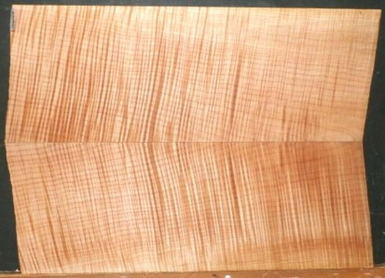 Flame Tiger Maple Music Wood 10042 Luthier Guitar Top Set 22x 16x .75