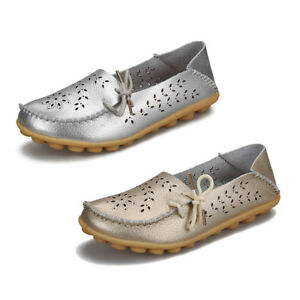 ec4ccd35f0eba Women's Driving Moccasin Loafers Soft Leather Flats Shoes Casual ...