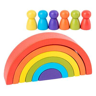 Stack /& Nest Kunststoff Tassen Regenbogen Stapeln Spielzeug Pädagogisch B5Z8