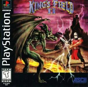 King-039-s-Field-2-PS1-Great-Condition-Fast-Shipping