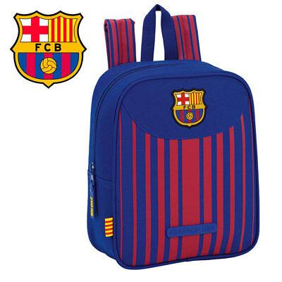 FC BARCELONA MINI RUCKSACK 22x10x27CM BLAU ROT GESTREIFT KINDERRUCKSACK BARCA | eBay