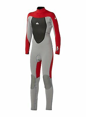 Quiksilver Syncro GBS 3//2 Back Zip Fullsuit boy/'s 8 14 new NWT wetsuit