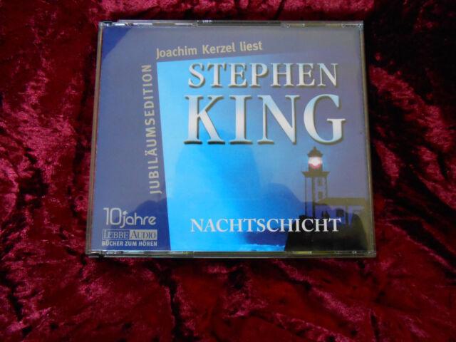Nachtschicht. Jubiläumsedition. CD von Stephen King (2006)