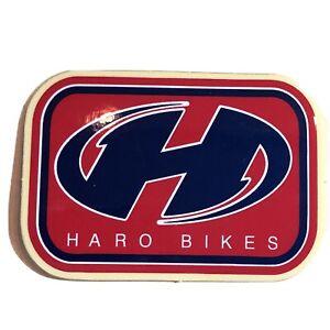 HARO bikes BMX STICKER AUTOCOLLANT OLD SCHOOL VINTAGE NOS Genuine Blue