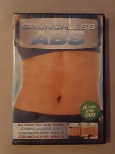 Workout-Video-Crunchless-Abs-1-2-3-All-on-1-DVD-Linda-Larue-NEW