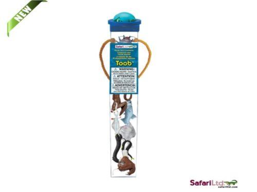 Series Tubos 7 Mini Figurines Safari Ltd 688104 Deep Sea Creatures Tubes