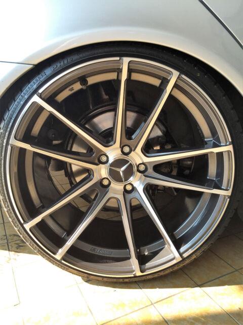 19 Zoll Radical Alu Felgen für Mercedes CLA A E C -Klasse W176 A45 AMG C63 117