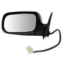 Exterior Mirror Black Textured Power Driver Side LH for 04-08 Subaru Forester