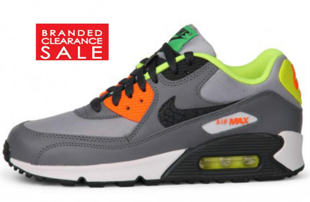 BNIB New Mens Nike 90 Air Max 90 Nike Trainers Grey size 3 4 5 6 ac132a