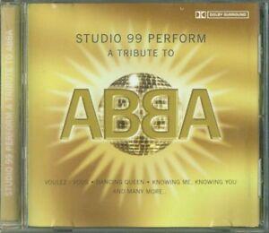 Abba-Studio-99-Perform-A-Tribute-To-Abba-Cd-Ottimo