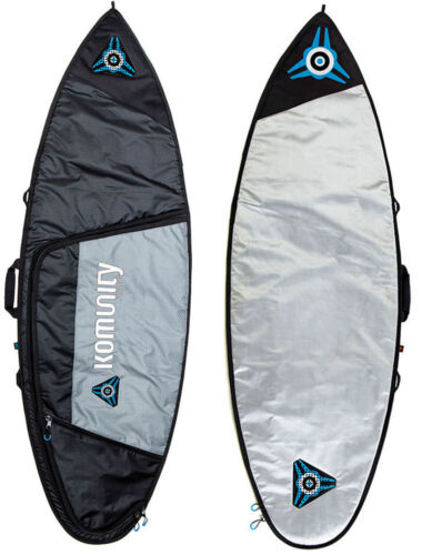 KOMUNITY PROJECT ARMOUR SURFBOARD BAG SHORTBOARD SINGLE TRAVEL LIGHTWEIGHT