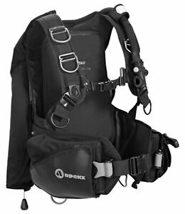 Apeks By Aqua Lung Black Ice Back Inflate BCD