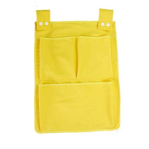 Baby Cot Bed Hanging Storage Bag Crib Organizer Toy Diaper Pocket For Bag SH