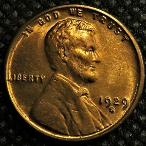 Uncirculated-1929-s-Lincoln-Wheat-Cent-with-die-cracks