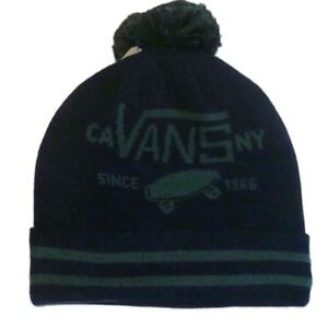 VANS FULL PATCH POM POM BEANIE HAT - BOBBLE HAT WINTER HAT V2UKADI ... 74365f57e09
