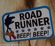 """Oldschool Sticker """"Roadrunner beep"""" Adesivo/Hot Rod US Car-ratrod v8"""