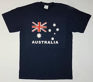 Unisex-Adult-Australia-Flag-Souvenir-T-Shirt-100-Cotton