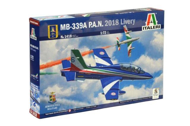 Italeri 1418 - 1/72 MB-339A P. A. N.2018 Livrea - Nuovo