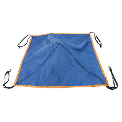 Universal Tent Top Cap Rain Protection Roof Vent Cover with Clips 70cm x 70cm