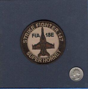 NIGHT STRIKE FIGHTER F//A-18C HORNET Patch USN NAVY PILOT VFA-147 ARGONAUTS