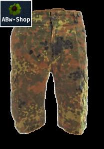 Orig-Bundeswehr-BW-Feldhose-kurz-Bermuda-Hose-Flecktarn-Armee-Army-TOP-Zustand