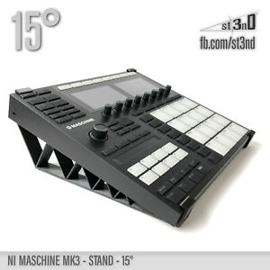 NI MASCHINE MK3 STAND - 15 degrees - 3D printed