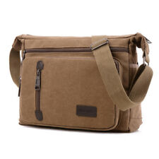 0a7689798d Mens Vintage Canvas Messenger Shoulder Bag Crossbody Sling School Travel  Satchel