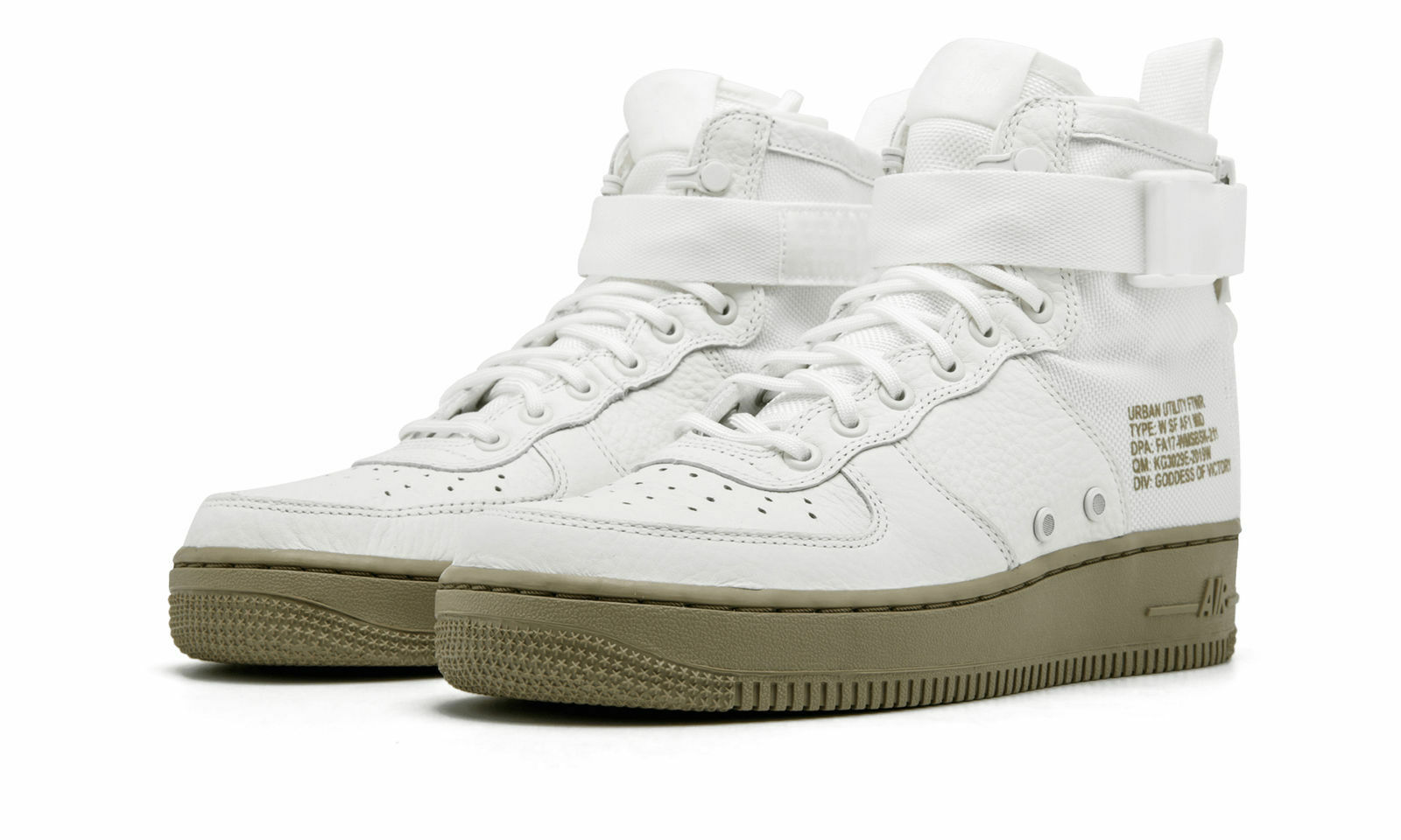 NIKE SF AF1 MID IVORY MARS STONE Donna SNEAKERS Sz 9.5 [AA3966-100]