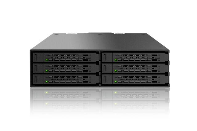 "Icy Dock MB996SP-6SB DAS RAID Array 6x SATA 600 HDD/SSD using 5.25"" Drive Bay"
