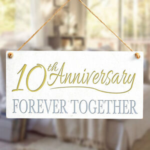 Unique Small Tenth Wedding Anniversary