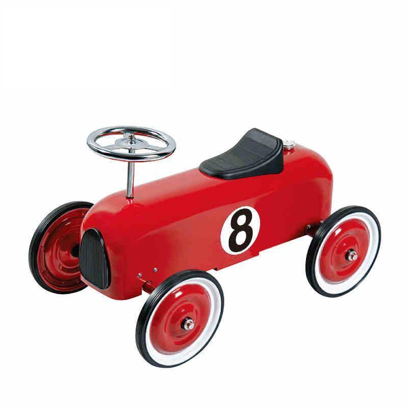 Little Little Little Racer Ride on Push Along Car All Metal Construction bluee Only fbcbf2