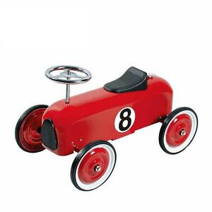 Little-Racer-Ride-on-Push-Along-Car-All-Metal-Construction-Blue-Only