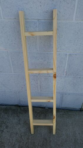 """36/"""" Decorative Wooden Ladder UNFINiSHED Do it yourself"""