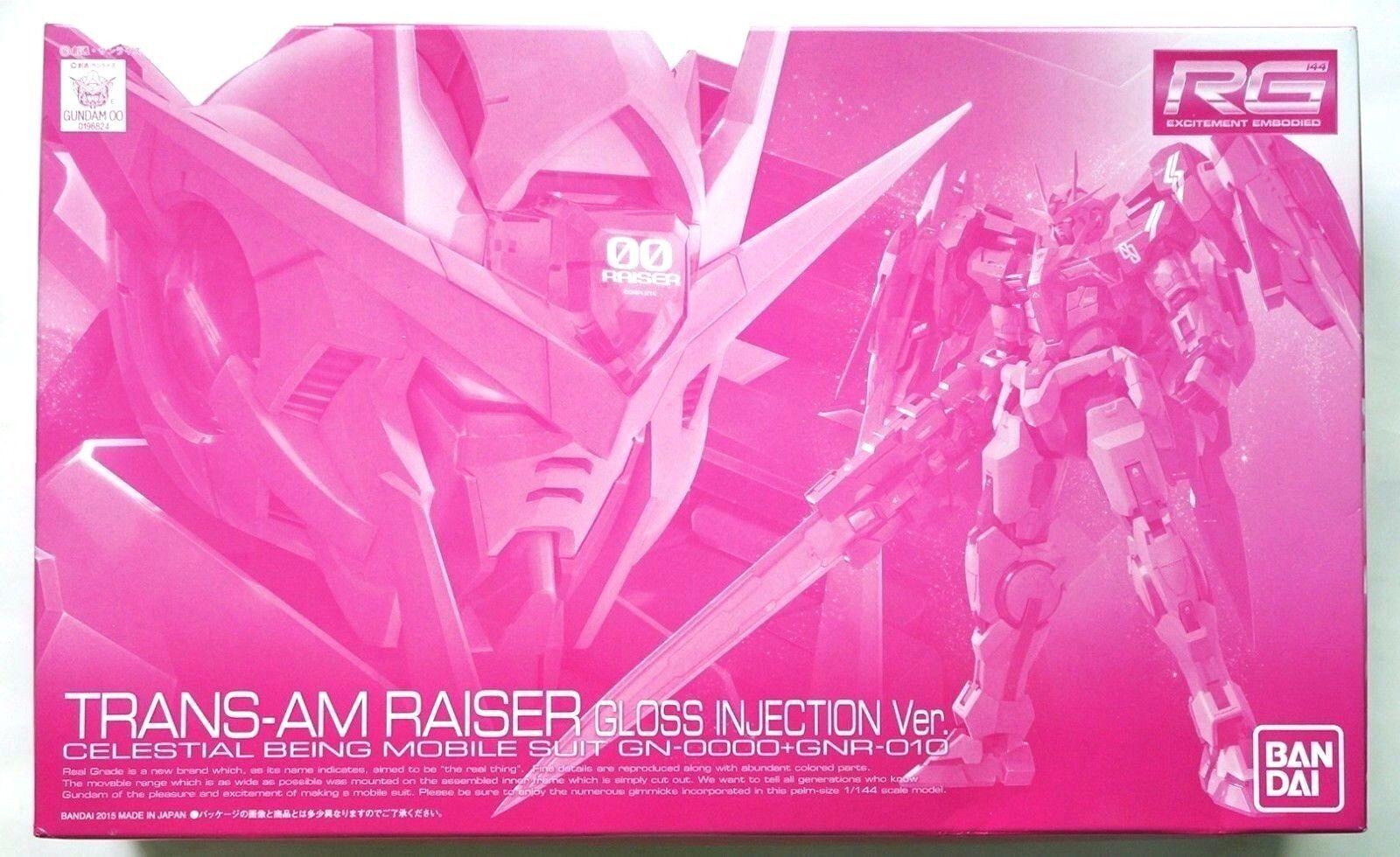 BANDAI RG 1 144 Trans-am Raiser Gloss Injection ver. limited scale model kit