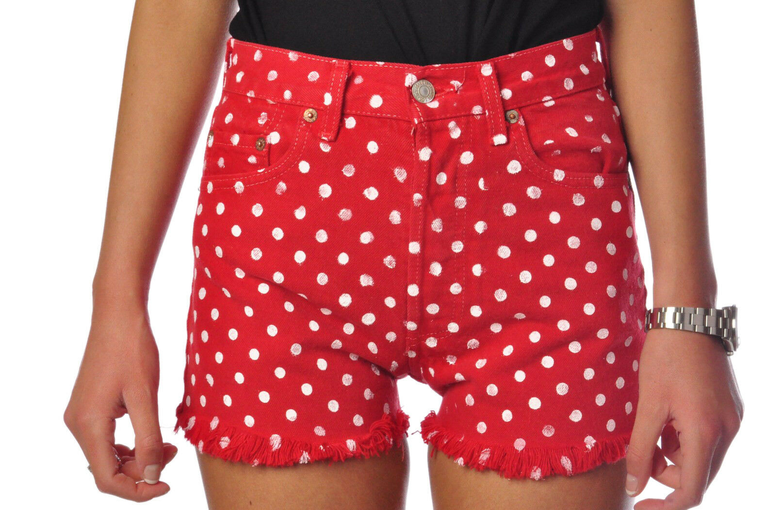 Different 501  -  Pants - female - 28 - Red - 325702B165913