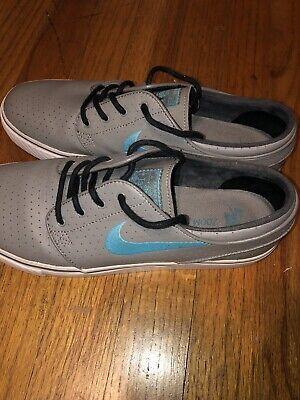 1755e05bb21c Men s Nike Zoom Stefan Janoski Shoes Size 8.5 Light Charcoal Gamma Blue  Skate