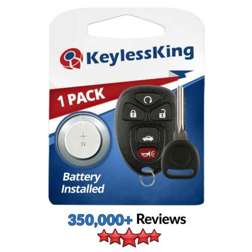 Fits 2006 2007 Chevrolet Monte Carlo Keyless Entry Remote Key Fob 15912860
