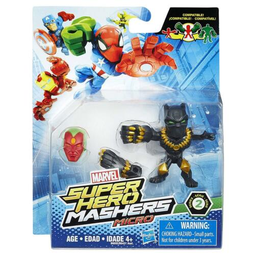 Marvel Super Hero Mashers Micro Series 2 Mini Figure Black Panther