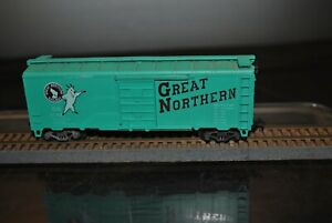 ATHEARN-GREAT-NORTHERN-GOAT-40-039-Green-BOXCAR-27400-HO-SCALE-TRAIN-CAR