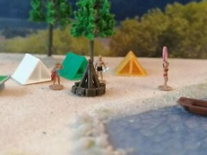 3 Zelte mit Lagerfeuer |  Badestrand | Campingplatz