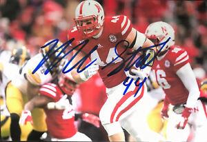Mick Stoltenberg Signed 4x6 Inch Photo Nebraska Cornhuskers Defensive End