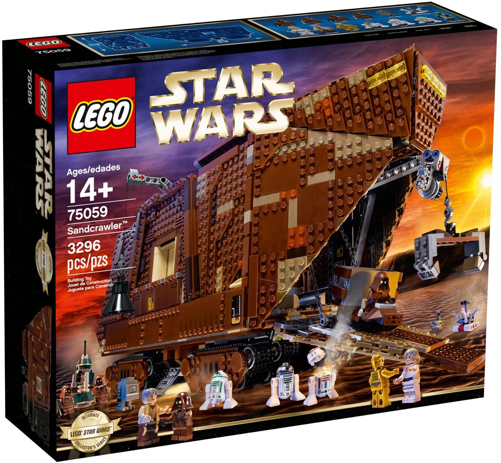 LEGO Star Wars-in esclusiva 75059 Sandcrawler M. r5-d8, Owen Lars & JAWA-NUOVO OVP