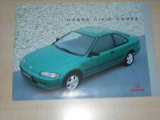 44813) Honda Civic Coupe Prospekt 08/1993