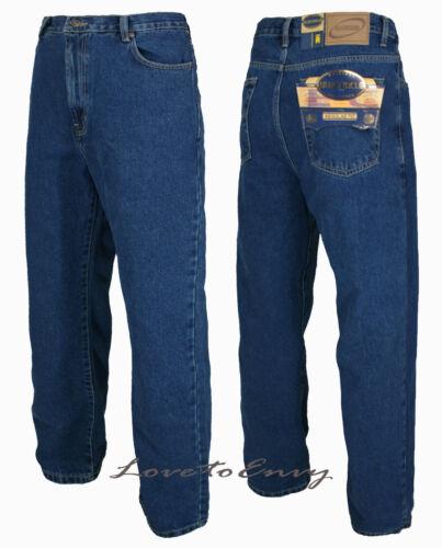 Bleu Heavy Tuff Jeans 50 Regular de 28 pour Taille hommes Duty Leg travail Leg Straight Short qRBTRZ